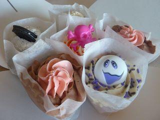 Pink Moon Cupcakes